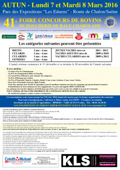 Affiche ste agric concours 2016